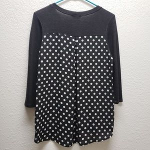 Polka Dot Back Top